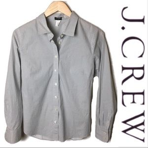J. Crew Perfect Stretch Button Down Shirt